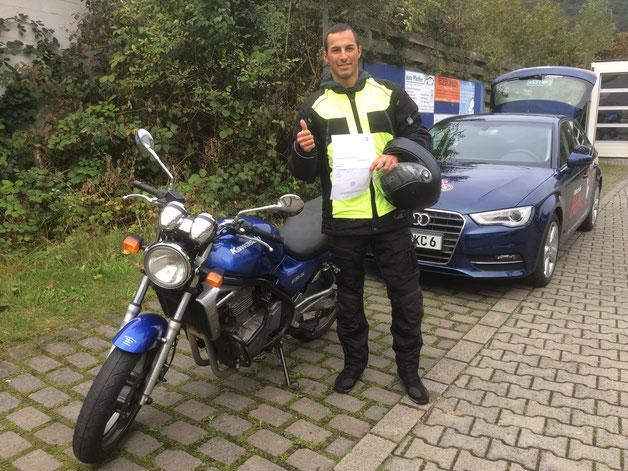 Daniel Carvajal Sanchez, A2 - Führerschein am 07.10.2016 in Wertheim