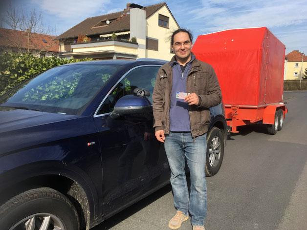 Andreas Weißenberger, Anhänger, 28.02.19 in Wertheim