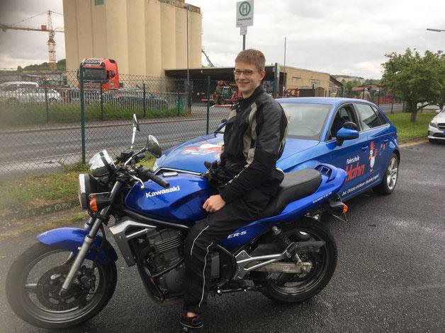 Lukas Ritzler, Motorrad A2 am 09.05.2019 in Marktheidenfeld