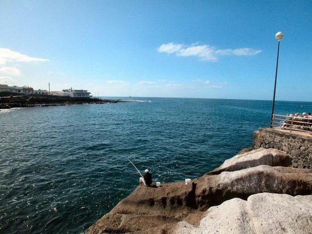 Bucht von las Caletas