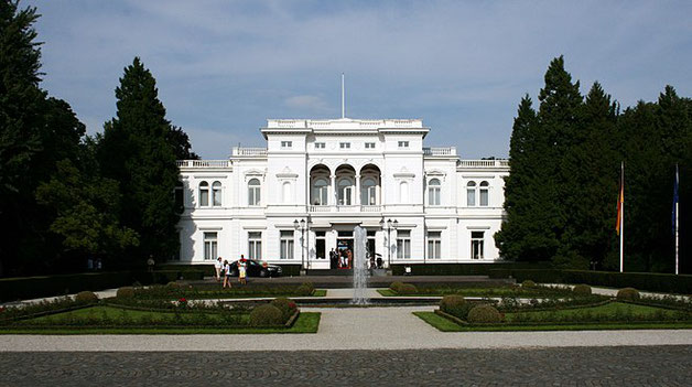 Villa Hammerschmidt, das Weiße Haus von Bonn/ Foto Wikipedia