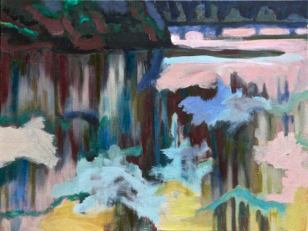 Ohne Titel, 2016 Acryl auf Leinwand 60x80