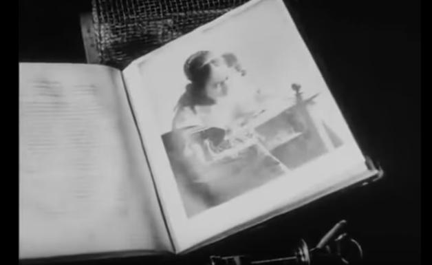 フェルメールの「レースを編む女」のページ。