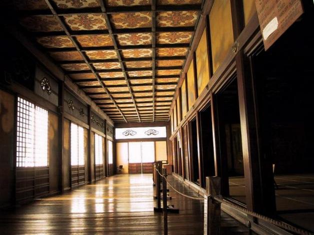 Corridor au plancher rossignol du Shikidai-no-ma (credit photo site de SoraNews24)