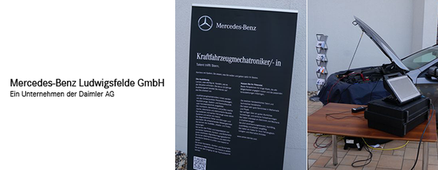 Firmenparcours Berufsnavigator Hamburg | Mercedes-Benz