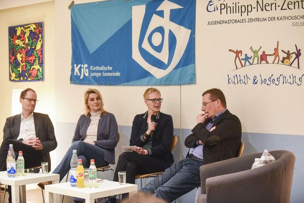 Klaus Pfeffer, Dorothé Möllenberg, Rebekka Biesenbach, Thomas Schüller (Bistum Essen | Alexandra Roth - fotoagentur-roth)
