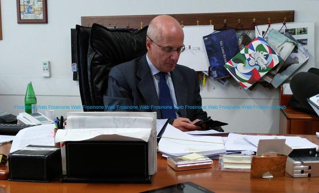 Giuseppe De Falco Procuratore Capo della Repubblica presso il Trubunale di Frosinone