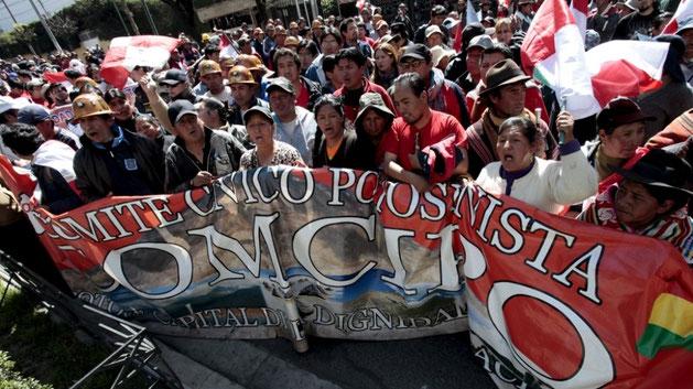 Borgerkomité 'OMCIPO' i La Paz