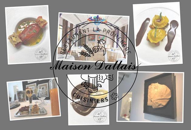 La Promenade Maison Dallais - Restaurant gastronomique en Touraine - 1 Étoile Michelin - Bon cadeau - Offrez une étoile