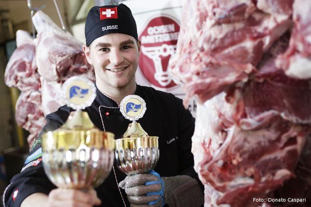 Vize-Europameister Fleischfachmann Lukas Wattinger