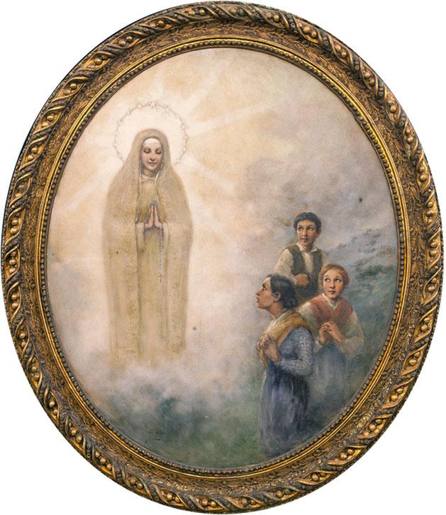José Leite Apparizione di Nostra Signora di Fatima ai tre Pastorelli (1936) parrocchia di Marinha Grande (diocesi di Leiria-Fatima)