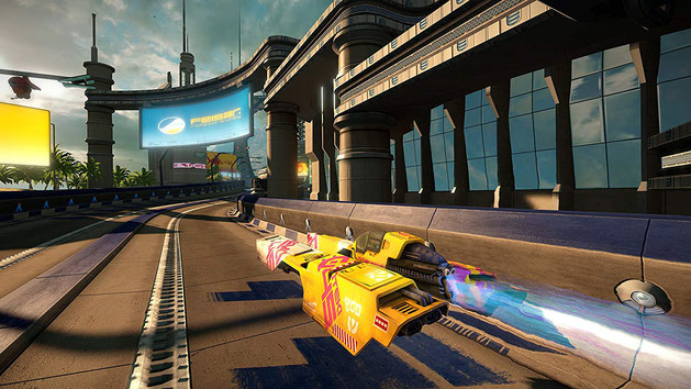 Rennspiele PS4: WipEout Omega Collection