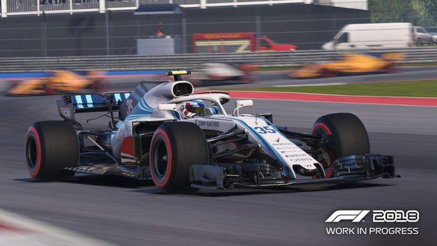 Rennspiele PS4: F1 2018