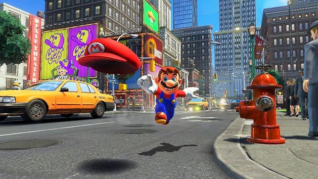 Beste Spiele 2017: Super Mario Odyssey