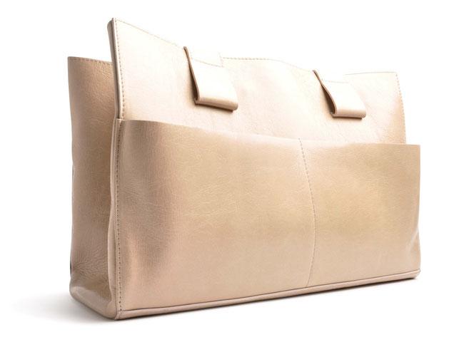 OSTWALD Bags . Shopper . beige  leather. Shop online . everyday bag .  Webshop