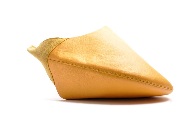OSTWALD Bags . Finest Couture . Handcrafted Leatherbag . Fullmoon. Shopper . colour Yellow