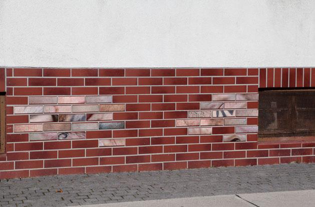 Fotografieinstallation im öffentlichen Raum