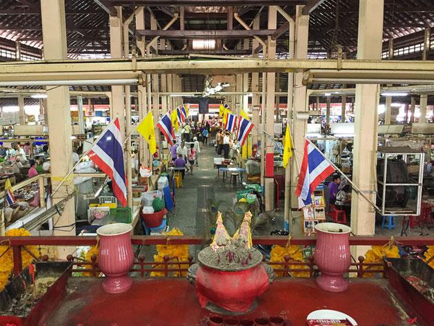 nang loeng markt in rattanankosin, bangkok