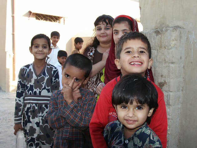 Neugierige Kinder in Quetta