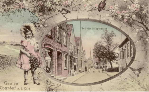 Oberndorf Oste Ansichtskarte