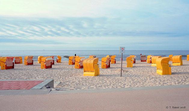 Strandkörbe  Cuxhaven