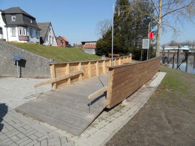 Oberndorf Oste Fährdenkmal