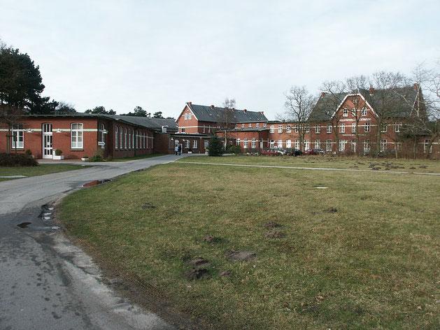 Fotografie des Seehospitals Sahlenburg, Lungenheilstätte bei Cuxhaven