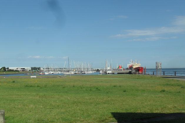 Neuer Jachthafen Cuxhaven