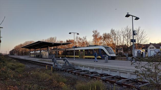evb Bahn Cuxhaven