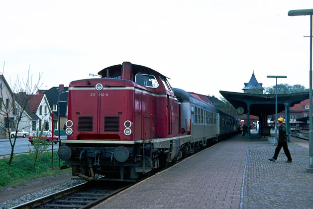 Deutsche Bahn Bahnhof Cuxhaven