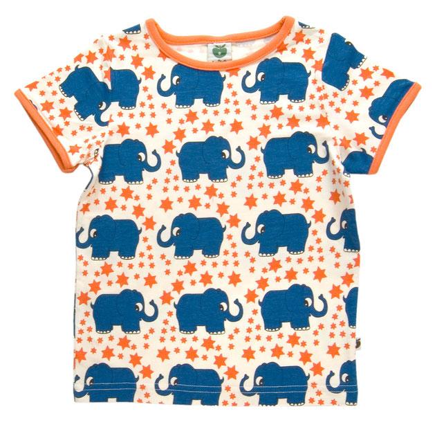 Smafolk T-Shirt Elefanten & Sterne