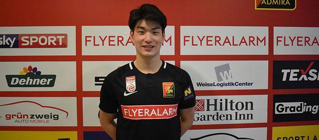 Vom FC Lieferung wurde Jung-min Kim ausgeliehen um vorerst bei den Juniors Erfahrung zu sammeln und um dann im offensiven Mittelfeld eingesetzt zu werden