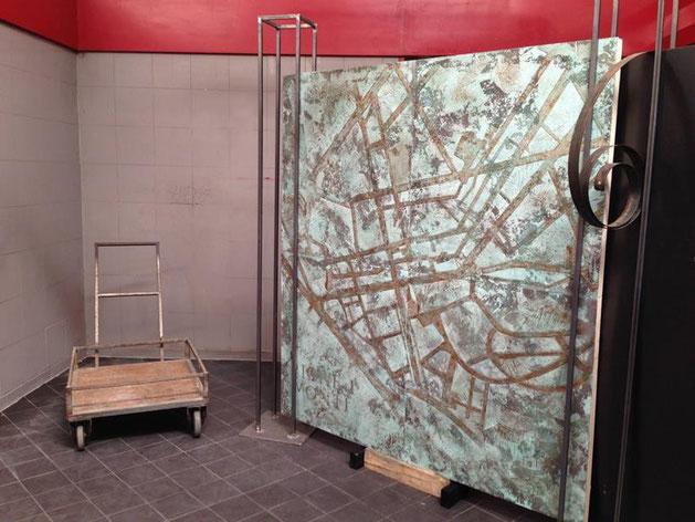 OpenLabMonti: interpretazione grafica della Mappa del Rione I di Virginia Meliadò e Emanuela Pizzi