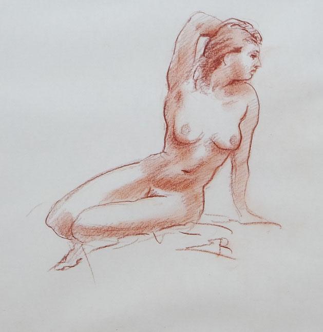te_koop_aangeboden_een_rood_krijt_kunstwerk_van_de_nederlandse_kunstschilder_jan_sluijters_jr_1914-2005
