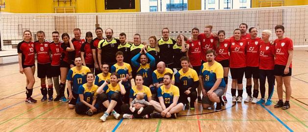 GSV Zwickau, Dresdner GSV, GSV Leipzig und GSBV Halle/S.