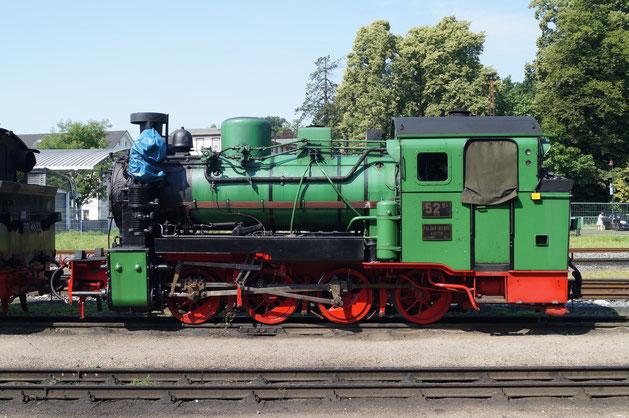 99 4632 (52 Mh) am 02.08.2015 in Putbus © Sammlung Ansorge