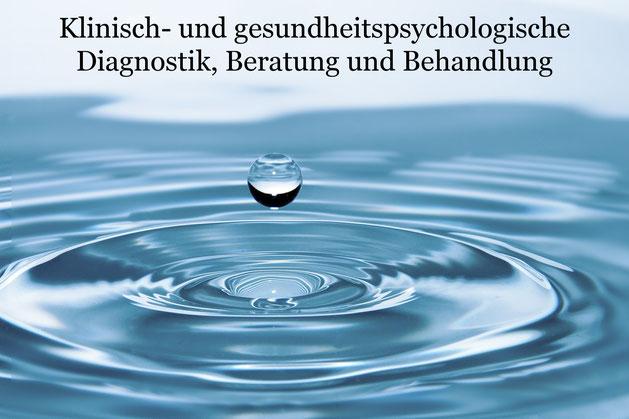 Klinisch- und gesundheitspsychologische Diagnostik, Beratung und Behandlung