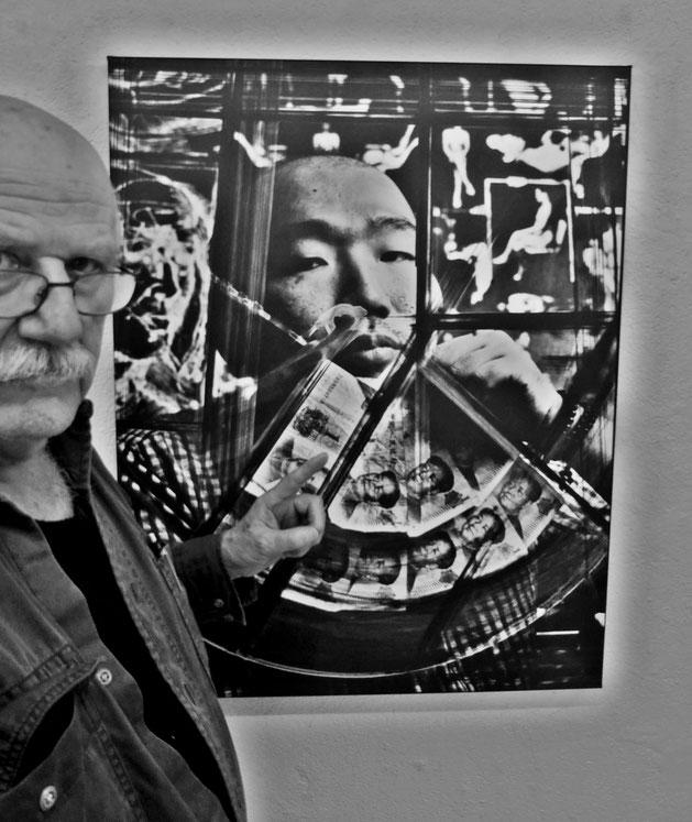 Pedro Meier – Anita Gratzer Foto – Künstlerhaus S11 Solothurn Altes Spital – Artist-in-Residence – SelfieArt © Pedro Meier Multimedia Artist Visual Art Museum Bangkok – FLUXUS – DADA – DigitalArt – SIKART Zürich – Gerhard Meier Weg Niederbipp Bern Schweiz