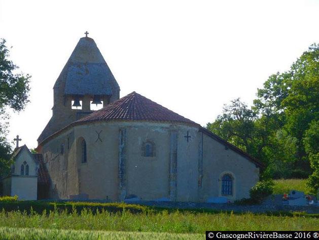 Eglise de saint-André Ladevèze-Rivière