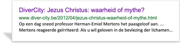 Ik kreeg les van dezelfde theoloog - Emiel Mertens