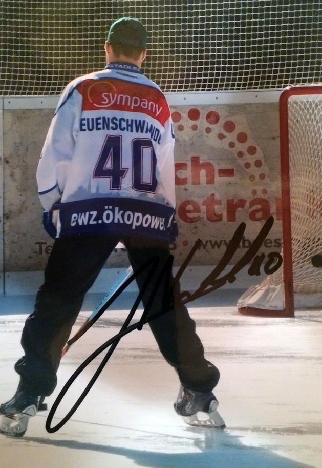 Jan Neuenschwander Autograph Autogramm