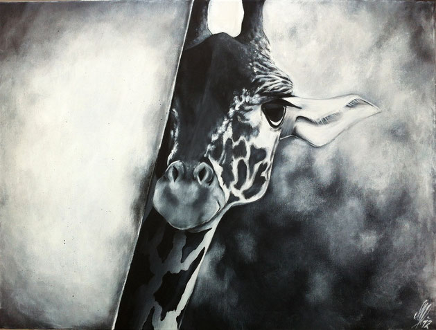 """""""The African Lady"""", 2012, acrylic on canvas, 60x80"""