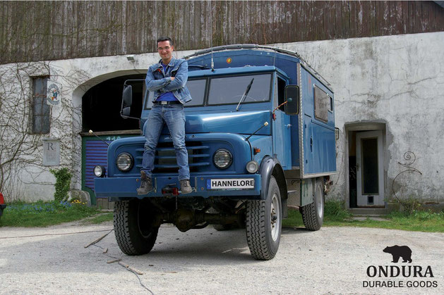"""""""My Housetruck is from 1966 and it`s still running. That`s the way how quality goods should be."""""""