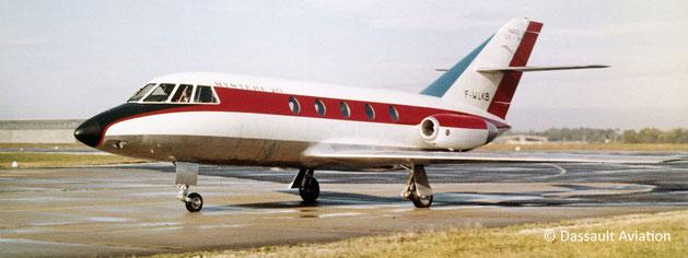 Le Mystère 20 qui sera bientôt rebaptisé Falcon 20