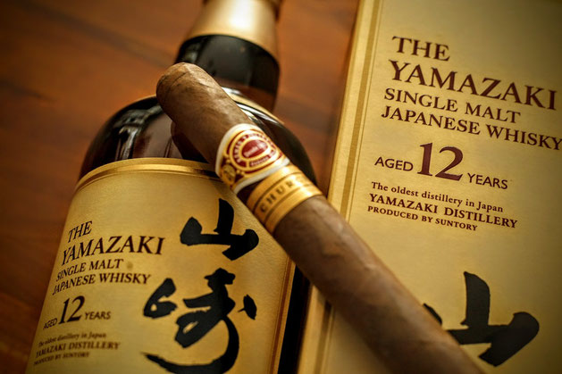 Yamazaki Paired With Romeo Julieta Cuban Cigar