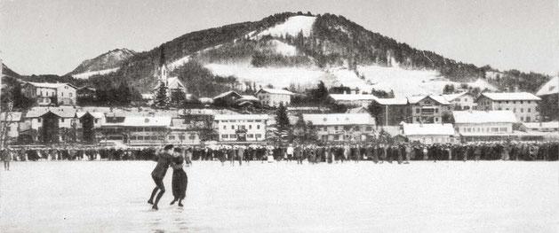 Eislauf-Meisterschaft auf dem Tegernsee