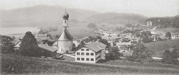 Blick auf Gmund a. Tegernsee vom Osterberg