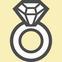 ペット遺骨アクセサリー指輪のアイコン画像