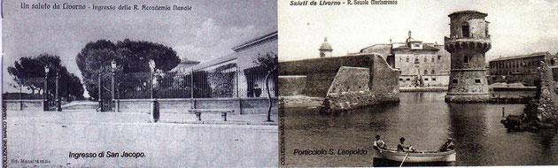 INGRESSO ACCADEMIA E PORTICCIOLO SAN LEOPOLDO
