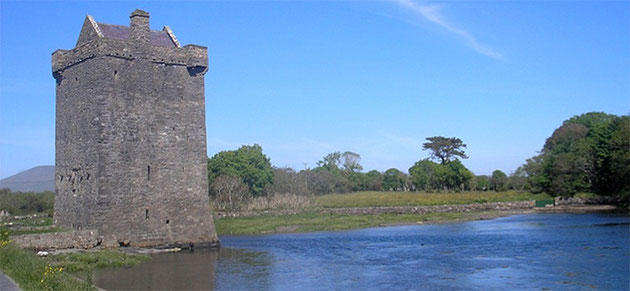 Rockfleet Castle, Burrishoole, Co. Mayo